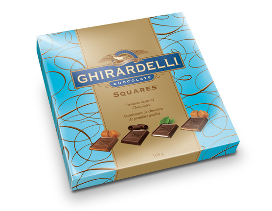 ghirardelli packaging