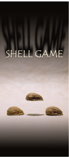Shell Game post card